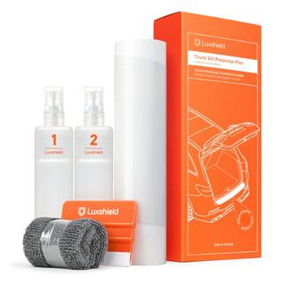 Grand C MAX Ladekantenschutz Lackschutzfolie mit Profi-Rakel von WIZUALS/© mit Profi-Rakel in 3D Carbon Silber